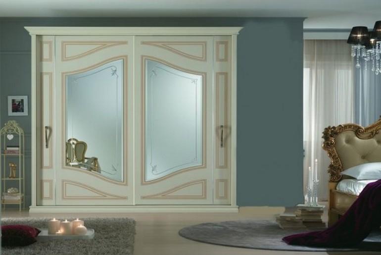 Armadio Annarè con specchi