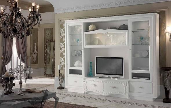 Stilema belle epoque art 5000 ninocco arredamenti for Parete attrezzata classica contemporanea