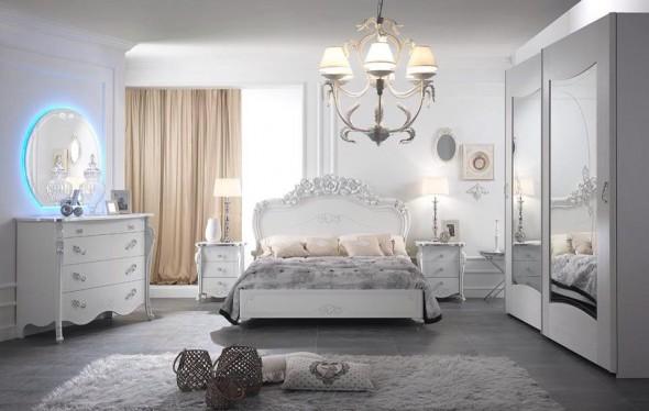 camere da letto contemporanee mobilpiù napoli viola