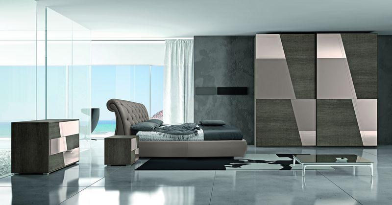 camere da letto moderne artigianmobili napoli M02
