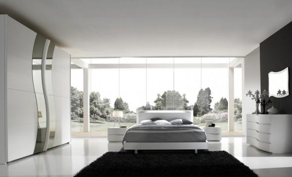 camere da letto moderne napoli composizione ermes erm 101