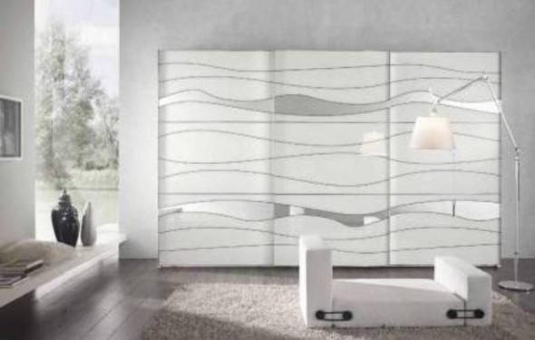 Armadio modello onda ninocco arredamenti for Camere da letto moderne offerte