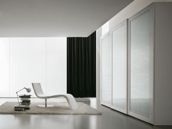 camere da letto moderne napoli armadio seventies