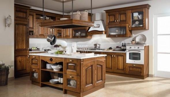 cucine con isola classiche mobilturi napoli elena