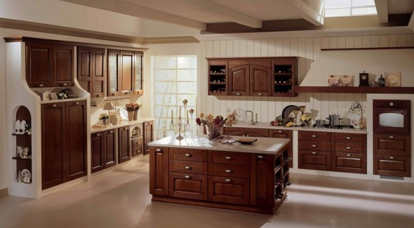 Stunning cucine con isola classiche photos for Piermarini arredamenti