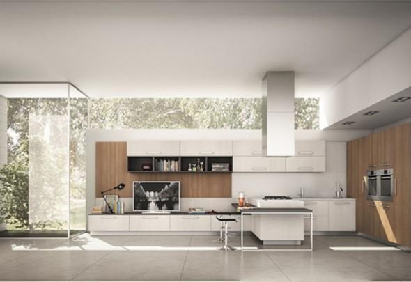 Cucina evolution ninocco arredamenti - Cucine moderne con penisola ...