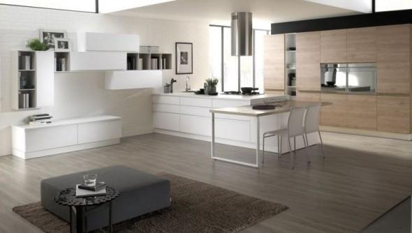 Cucina luna ninocco arredamenti for Cucine moderne con penisola