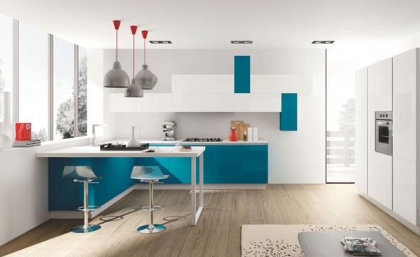 cucine moderne con penisola mobilturi napoli oceano