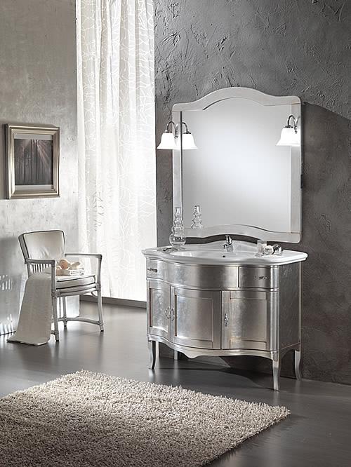London 110 foglia argento ninocco arredamenti - Mobili bagno como ...