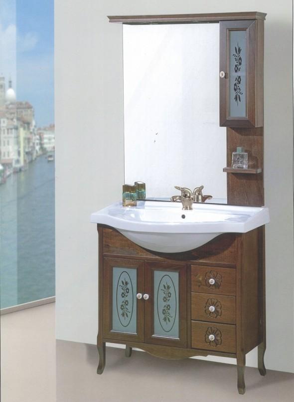 mobili bagno classico napoli mara 85 con pensile