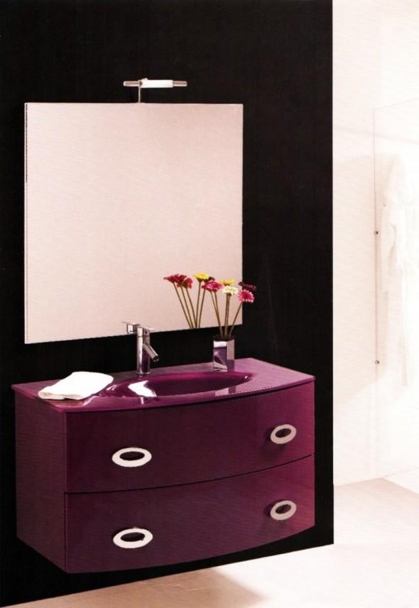mobili bagno moderno napoli round