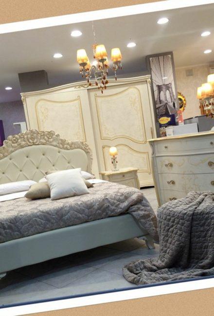 Camera da letto Avorio e oro