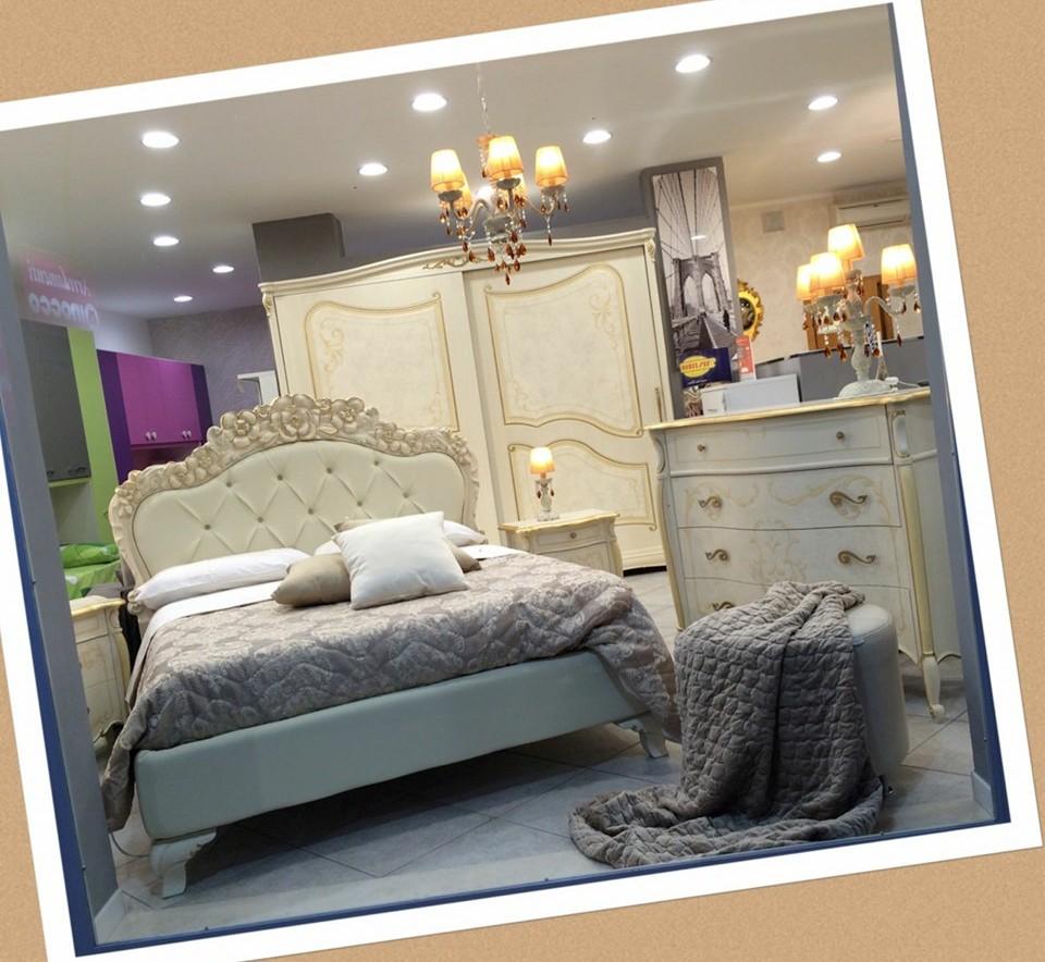 Camera da letto Avorio e oro – Ninocco Arredamenti