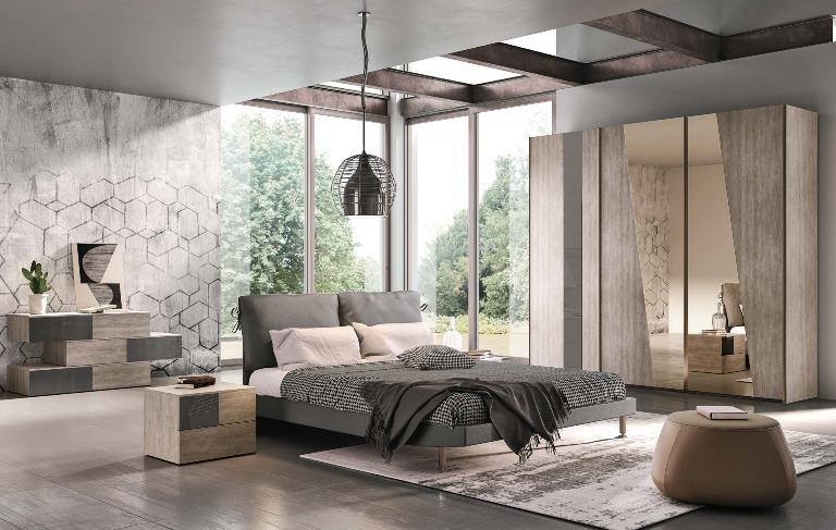 Camera m 107 ninocco arredamenti for Camere da letto moderne marche
